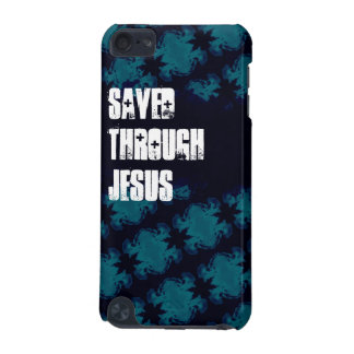 Saved Through Jesus iPod Touch Case for Teen Boys