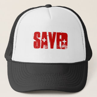 SAVED TRUCKER HAT