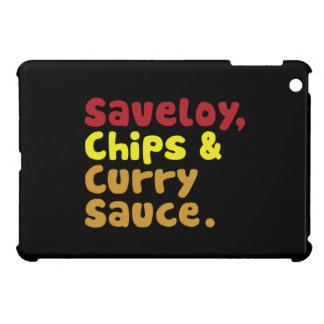 Saveloy, Chips & Curry Sauce. Case For The iPad Mini