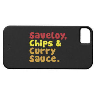 Saveloy, Chips & Curry Sauce. iPhone SE/5/5s Case