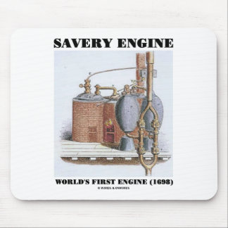 Savery Engine World's First Engine (1698) Mouse Pad