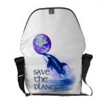 SaveThe Planet - Rickshaw Messenger Bag