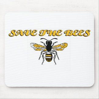 savethebees.png mouse pad