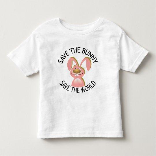 savethebunny toddler t-shirt