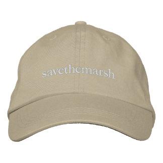 savethemarsh embroidered baseball hat