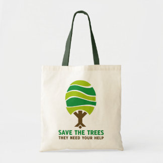 Savethetrees Tote Bag