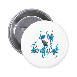 savewatercoastie2 pinback buttons