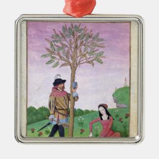 Savia del dibujo de un árbol ornamento para reyes magos