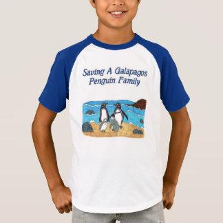 Saving a Galapagos Penguin Family T Shirt