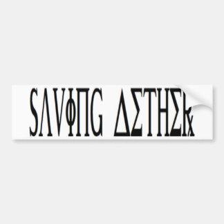 Saving Aether Bumper Sticker