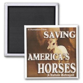 Saving America's Horses- Magnet