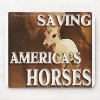 Saving America's Horses- Mouse Pad
