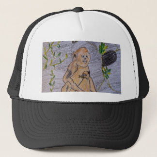 Saving China's Snub-Nosed Monkeys Trucker Hat