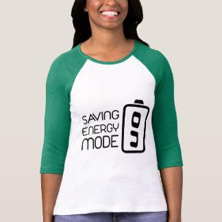 Saving Energy Mode ON Shirt 3/4