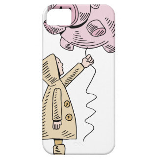 Saving For A Rainy Day iPhone SE/5/5s Case