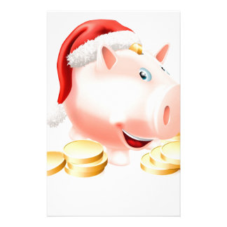 Saving for Christmas Concept Customised Stationery
