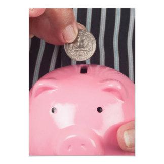 Saving for retirement card
