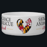 "Saving Grace Large Bowl<br><div class=""desc"">Let your cat or dog show their support for Saving Grace while enjoying their dinner.</div>"
