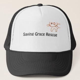 Saving Grace Rescue Logo Trucker Hat