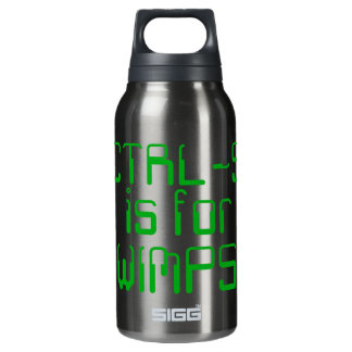 Saving is for wimps SIGG thermo 0.3L insulated bottle