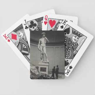 Saving Italy playing cards by Monuments Men