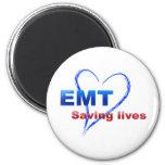 Saving Lives 2 Inch Round Magnet