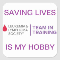 Saving Lives Sticker