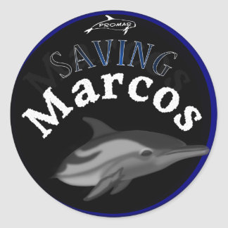 Saving Marcos the Dolphin Stickers