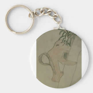 Saving Snub-Nosed Monkeys Keychain