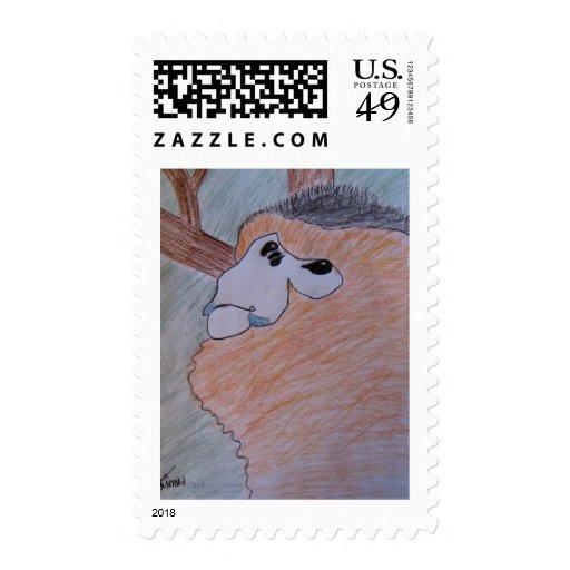 Saving Snub-Nosed Monkeys Postage Stamp