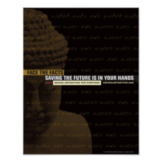 Saving the future is in your hands poster