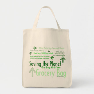 Saving the Planet One Bag At-A-Time Grocery Bag 2