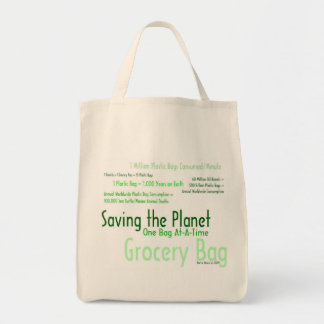 Saving the Planet One Bag At-A-Time Grocery Bag 3