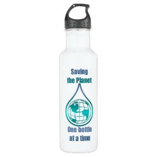 Saving the Planet 24oz Water Bottle