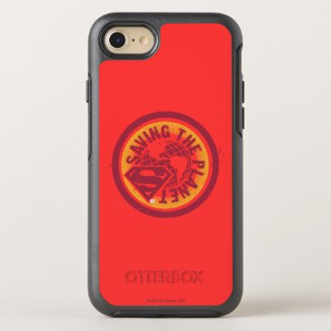 Saving the planet red circle OtterBox symmetry iPhone 8/7 case