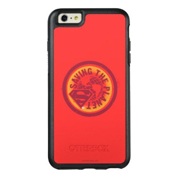 Saving the planet red circle OtterBox iPhone 6/6s plus case