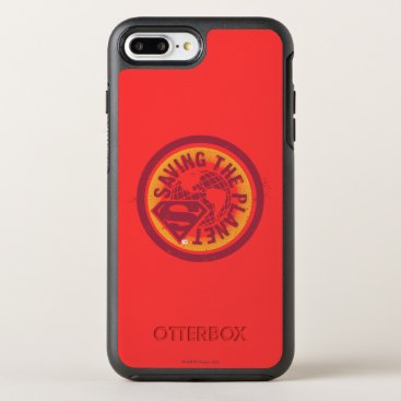 Saving the planet red circle OtterBox symmetry iPhone 8 plus/7 plus case