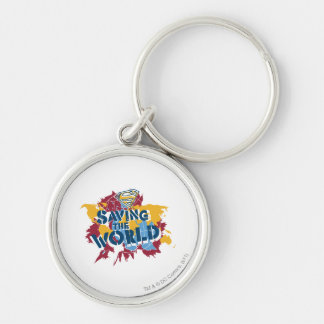 Saving the world with paint keychain