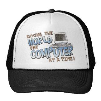 Saving theWorld Trucker Hats