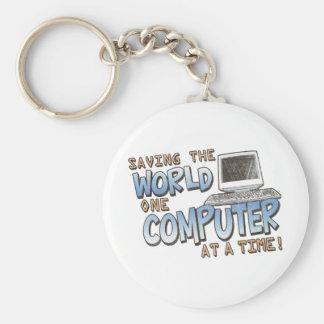 Saving theWorld Keychain