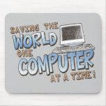 Saving theWorld Mouse Pad