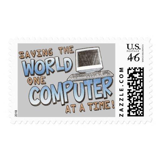 Saving theWorld Stamps