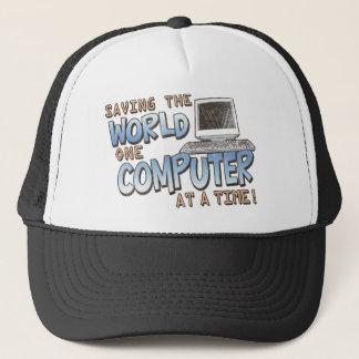 Saving theWorld Trucker Hat