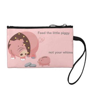 Savings Piggy Baglet Change Purse