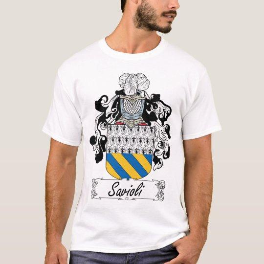 Savioli Family Crest T-Shirt