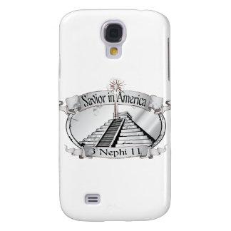 Savior in America - Book of Mormon - 3 Nephi 11 Samsung Galaxy S4 Cover