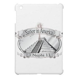 Savior in America - Book of Mormon - 3 Nephi 11 iPad Mini Covers