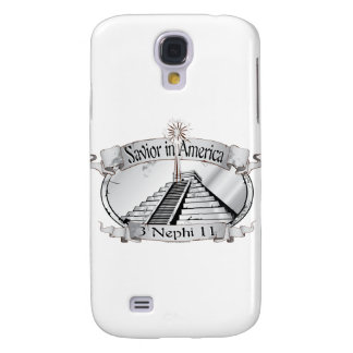 Savior in America - Book of Mormon - 3 Nephi 11 Samsung S4 Case