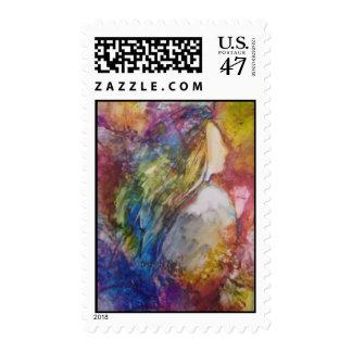 """Savior Please"" Postage Stamp"