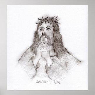 Savior s Love Print